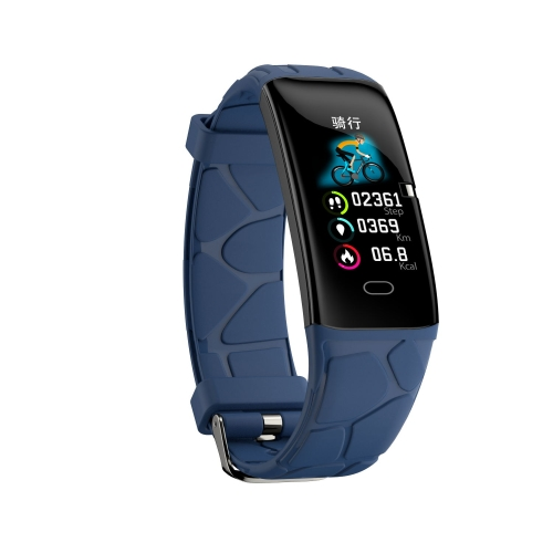 E58 0.96 inch IPS Color Screen Smartwatch IP67 Waterproof, Support Call Reminder /Heart Rate Monitoring/Blood Pressure Monitoring/Sleep Monitoring/Blood Oxygen Monitoring(Blue)  - buy with discount