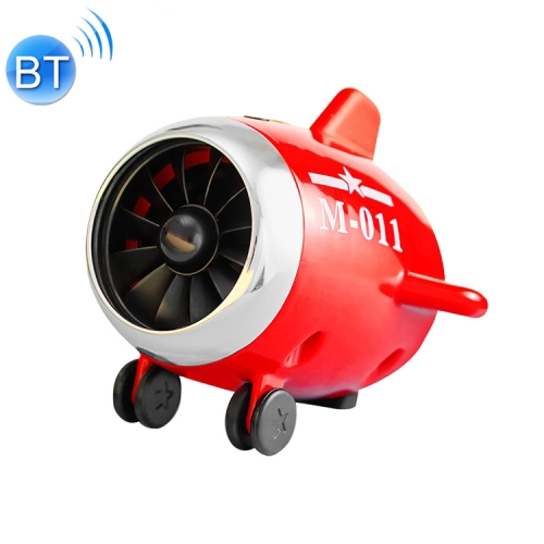 M11 Portable Smart Small Aircraft Bluetooth Speaker(Red)