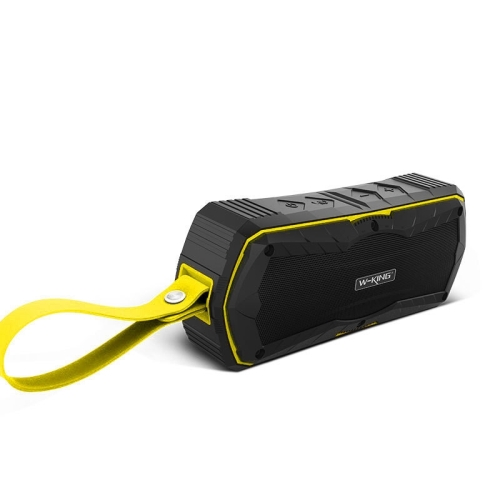 W-king S9 Outdoor Speakers Wireless Bluetooth Speaker Portable Waterproof with Radio Bluetooth Speakers(yellow)