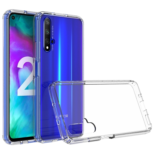 Scratchproof TPU + Acrylic Protective Case for Huawei Honor 20 Pro(Transparent)