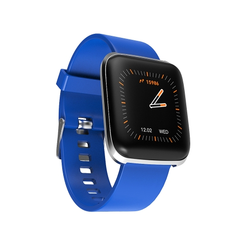 W5 1.3 inch IPS Color Screen Smart Watch IP67 Waterproof,Support Call Reminder /Heart Rate Monitoring/Sedentary Reminder/Sleep Monitoring/Blood Oxygen Monitoring(Blue)