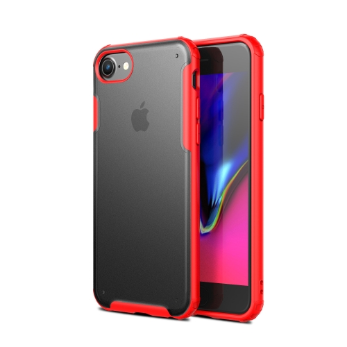Scratchproof TPU + Acrylic Protective Case for iPhone 6 / 6s(Red)