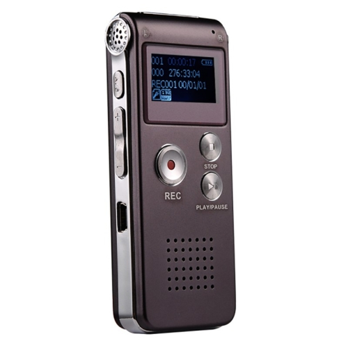 SK-012 8GB Voice Recorder USB Professional Dictaphone Digital Audio With WAV MP3 Player VAR Function Record(Purple) фото