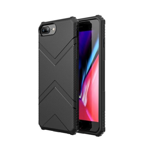 Diamond Shield TPU Drop Protection Case for iPhone 7 Plus / 8 Plus(Black)