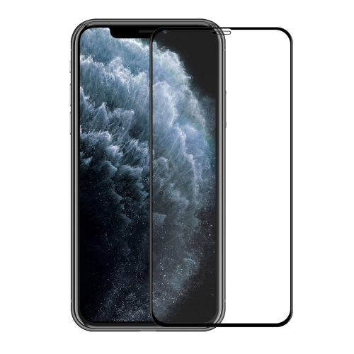 For iPhone 11 Pro Max / XS Max ENKAY Hat-Prince 0.26mm 9H 6D Curved Full Screen Tempered Glass Film