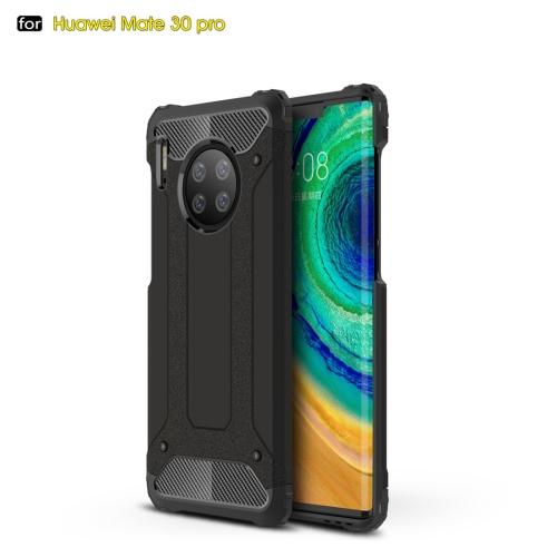 For Huawei Mate 30 Pro Magic Armor TPU + PC Combination Case(Black)