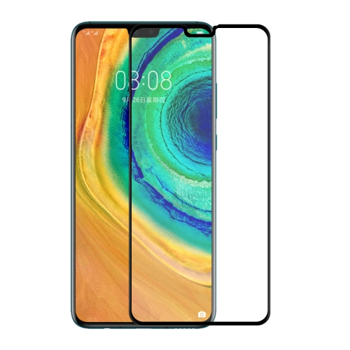 For Huawei Mate 30 ENKAY Hat-Prince 0.26mm 9H 6D Curved Full Screen Tempered Glass Film