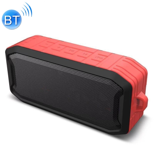 M3 Wireless Bluetooth Speakers Waterproof Portable Outdoor Loudspeaker Mini Box Speaker Support FM & TF & U Disk(Red)