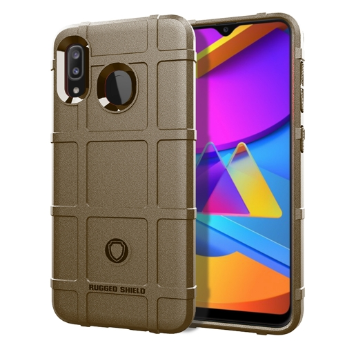 For Huawei Enjoy 10 Plus Full Coverage Shockproof TPU Case(Brown) фото