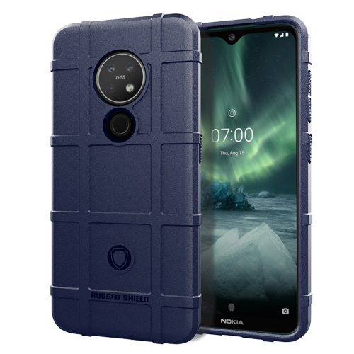 For Nokia 6.2 Full Coverage Shockproof TPU Case(Blue) фото
