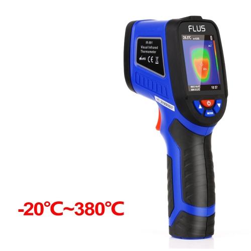 FLUS IR-891 -20~380℃ Handheld Camera Portable Infrared Thermometer Temperature Meter