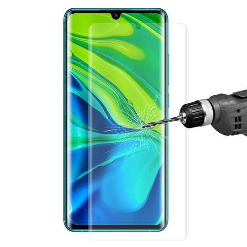 For XIAOMI MI CC9 Pro / MI Note 10 Global ENKAY Hat-Prince 0.26mm 9H 3D Explosion-proof Full Screen Curved Heat Bending Tempered Glass Film(Transparent)