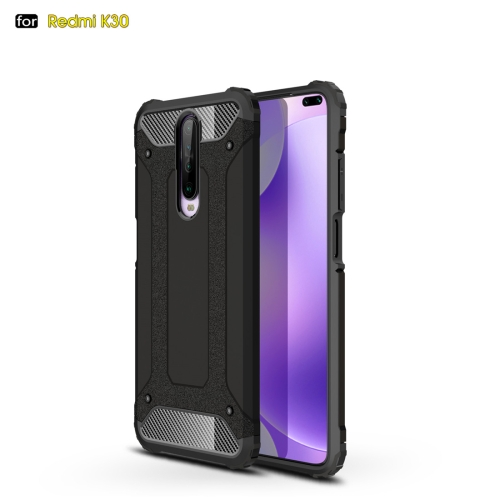 For Xiaomi Redmi K30 Magic Armor TPU + PC Combination Case(Black) фото