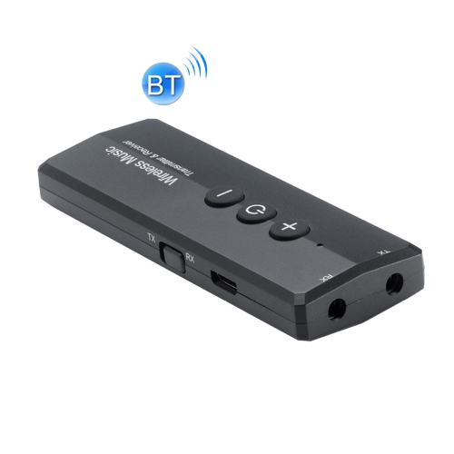 3 in 1 Portable Wireless Bluetooth Audio Receiver / Transmitter with 3.5mm Stereo Audio Jack
