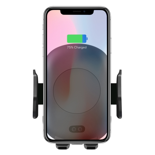 Infrared Induction Car Wireless Charger Dual Legs Air Outlet Holder for iPhone 11 / 11 Pro / 11 Pro Max / X / XR / 8 / 8 Plus, Galaxy S20 / S20+ / S10 / S9 / S8 / S7 фото