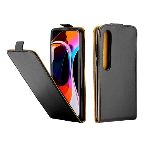 For Xiaomi Mi10/Mi10Pro Business Style Vertical Flip TPU Leather Case with Card Slot(Black) фото