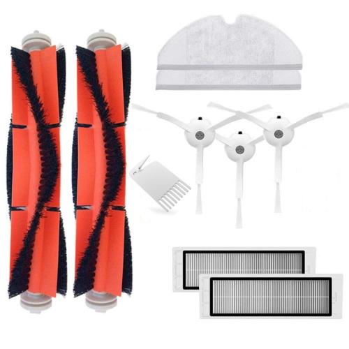 Main Brush Hepa Filter Side Brushes Replacement for Xiaomi Mi Robot Roborock s50 s51 Roborock 2 Vacuum Cleaner Accessory Kit