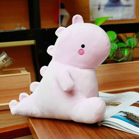 30-60CM Dinosaur Plush Toys Cute Stuffed Soft Animal Doll for Baby Kids Cartoon Toy Classic Gift(pink)