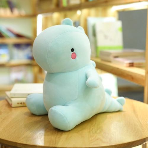 30-60CM Dinosaur Plush Toys Cute Stuffed Soft Animal Doll for Baby Kids Cartoon Toy Classic Gift(blue)
