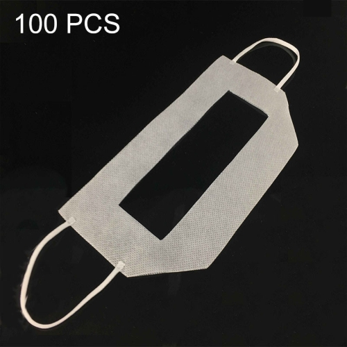 100pcs VR Headset Disposable Sanitary Face Eye Masks with Ears Hanging Rope