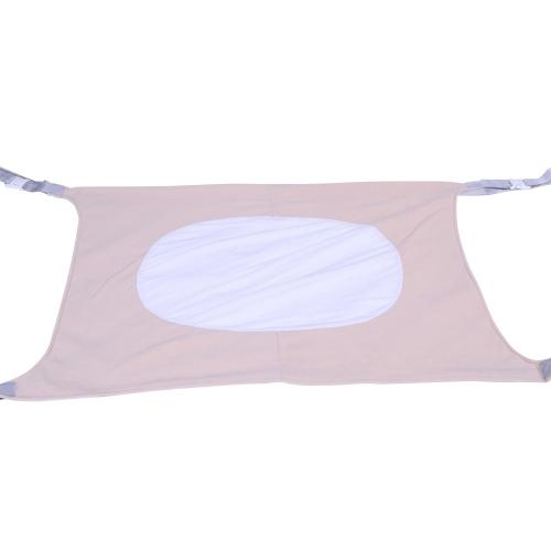 Detachable Portable Infant Baby Hammock Children Hanging Furniture Lightweight Baby Bed Indoor(Beige)