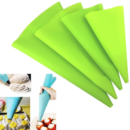 4 PCS Silicone Icing Piping Cream Pastry Bag Nozzle DIY Cake ...