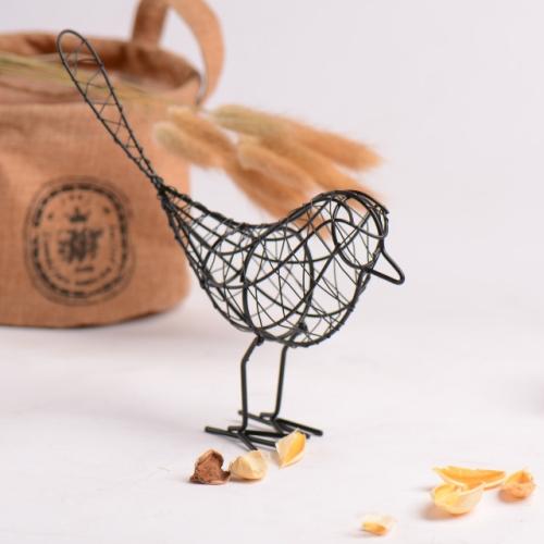 small decorative metal basket birds and flowers china.htm sunsky 2 pcs ldyllic wrought iron bird metal gifts crafts table  pcs ldyllic wrought iron bird metal