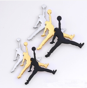 FLYJ NBA Jordan Jumpman Metal 3D Car Sticker Decor Metal Emblem Car Styling Accessories