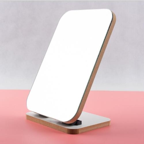 Sunsky 2 шт твердой древесины макияж декоративное зеркало