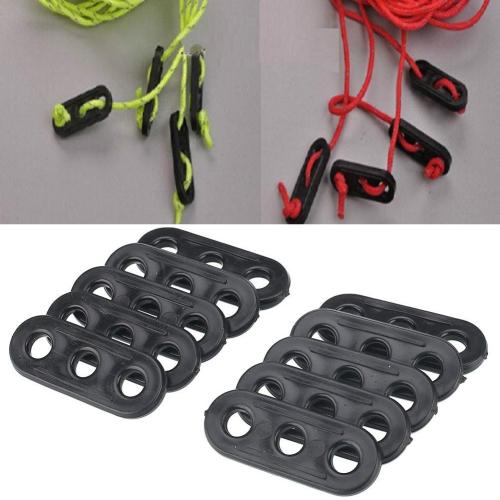 Aleaci/ón de aluminio en forma de L tienda Guy cuerda tensor 4/mm Pack de 10
