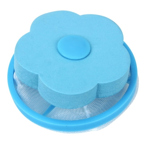 3 PCS Household Creative Clothing Cleaning Bag Laundry Ball Filter(Blue)