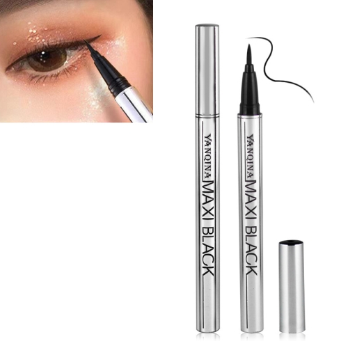 New Black Liquid Eyeliner Long-lasting Waterproof Eye Liner(Black)