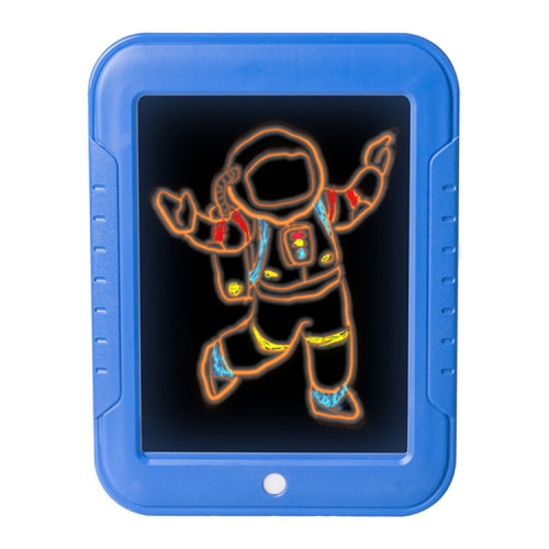 LED Writing Board 3D Magic Drawing Pad Creative Children Drawing Toys(Blue) фото