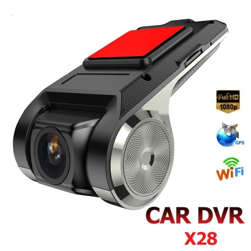 Anytek X28 Mini Car DVR Camera Full HD 1080P Auto Digital Video Recorder DVRs ADAS Camcorder G-sensor Dash Cam Wifi GPS Dashcam