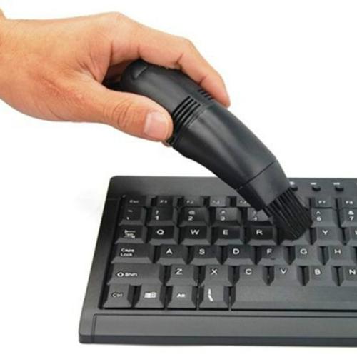 Mini USB Desktop Table Keyboard Vacuum Cleaner with Brushes(Random) фото