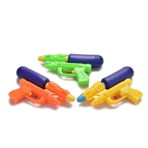 3 PCS Outdoor Children Toy ABS Water Gun, Random Color Delivery