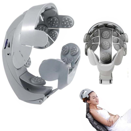 Electric Head Massage Relax Brain Acupuncture Points Stress Release Massager(US Regulations / International) фото