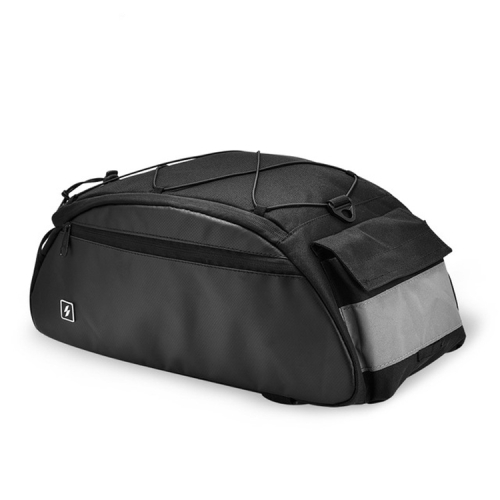 SAHOO Large Capacity Safety Bicycle Shelf Package Tail Bag, Size: 41x18x18CM, Color:Conventional