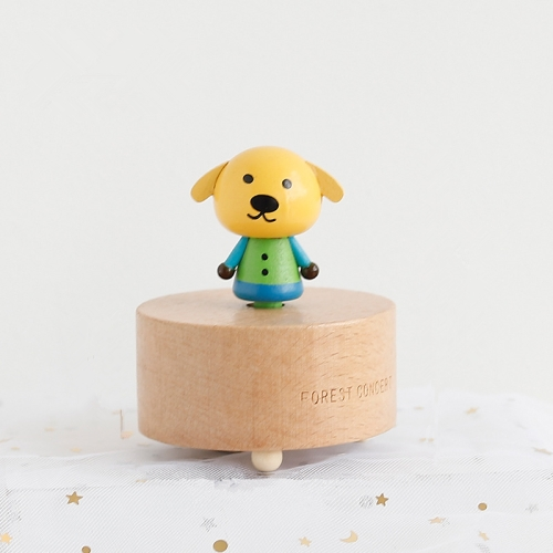 Wooden Music Box Boxmini Cute Pet