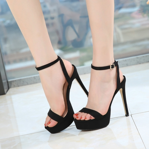 Heels Sandals Summer Sexy Ankle Strap
