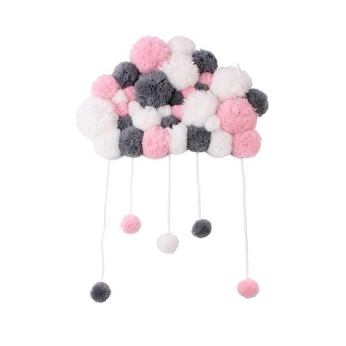 DIY Children Room Girl Room Decoration Hair Ball String Ornaments(Mixed)