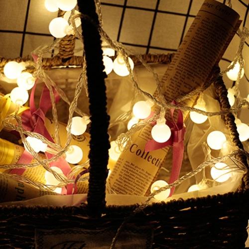 Sunsky Led Waterproof Ball Light String Festival Indoor