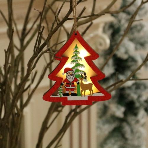 sunsky-online.com - 15% OFF by SUNSKY COUPON CODE: TBD0427027401 for 2 PCS Christmas Decorations Christmas Tree Luminous Pendant(Christmas Tree)