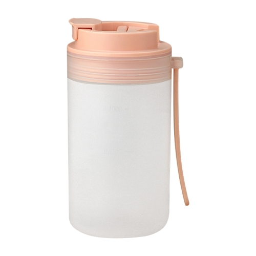 sunsky-online.com - 15% OFF by SUNSKY COUPON CODE: TBD0427038601 for 2 PCS Household Children Breakfast Cup Portable Large Capacity Water Cup With Scale(Coral Pink)