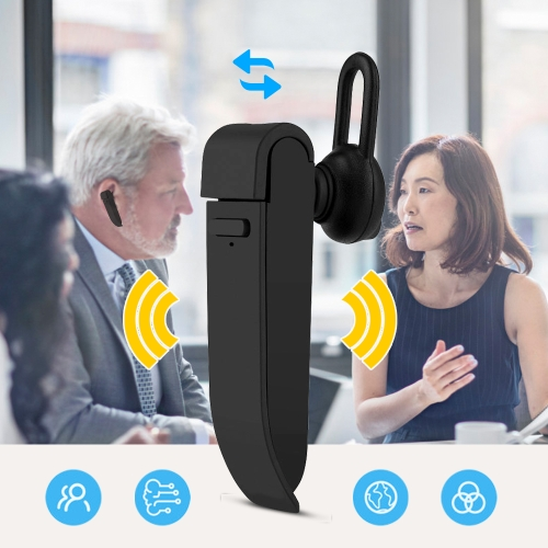 Portable Smart Voice Translator Bluetooth Instant Voice Translator Real-time Travel Business Translator Support 22 Languages