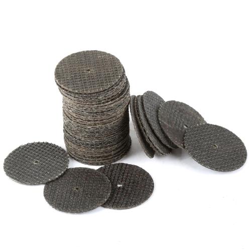 50pcs Dremel Accessories 32mm Cutting Discs Resin Fiber Cut Off Wheel Discs Tool