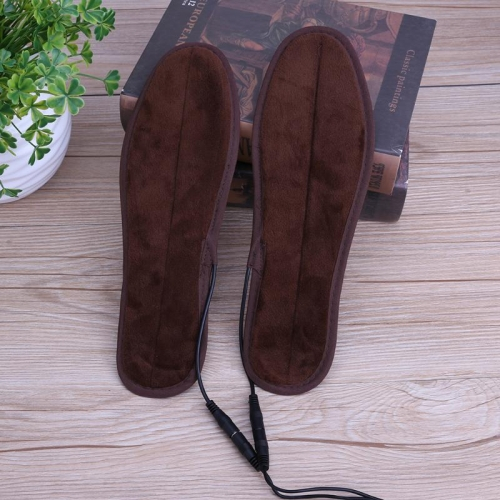 2 Pairs USB Shoe Dryer Electric Insoles Shoe Winter Keep Warm Heated Insole for Shoes Boot, Size:43-44 фото