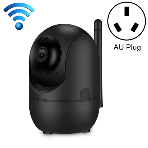 HD Cloud Wireless IP Camera Intelligent Auto Tracking Human Home Security Surveillance Network WiFi Camera, Plug Type:AU Plug(1080P Black)