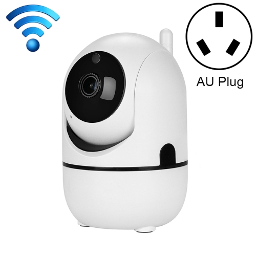 HD Cloud Wireless IP Camera Intelligent Auto Tracking Human Home Security Surveillance Network WiFi Camera, Plug Type:AU Plug(1080P White)