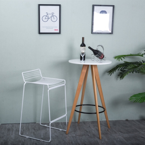 Fabulous Sunsky Stylish Modern Creative Design Metal Steel Cafe Alphanode Cool Chair Designs And Ideas Alphanodeonline